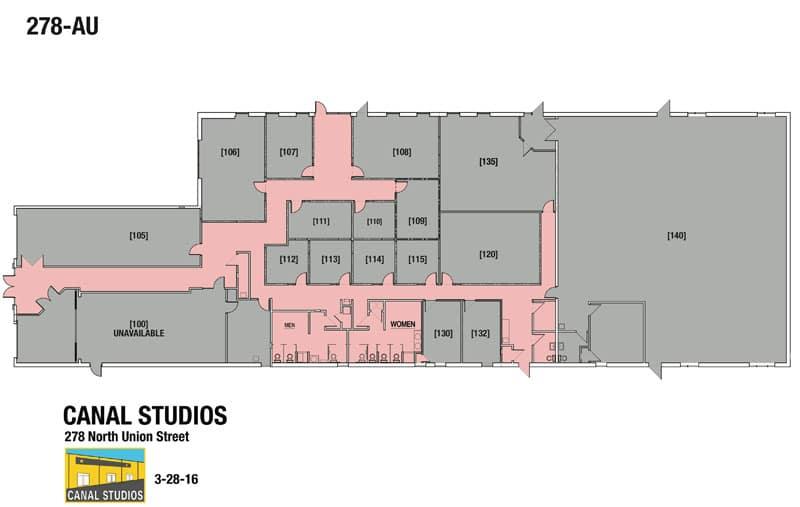 278 N. UNION STREET -Canal Studios Floorplan