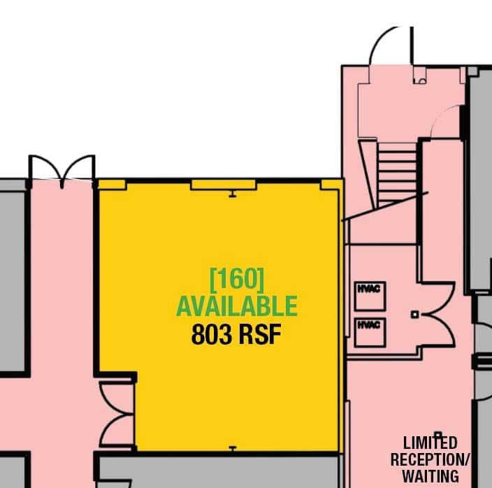 SUITE 160 - 803 RSF