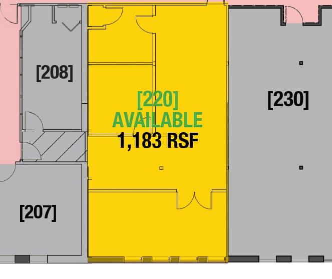 SUITE 240 - 1,773 RSF