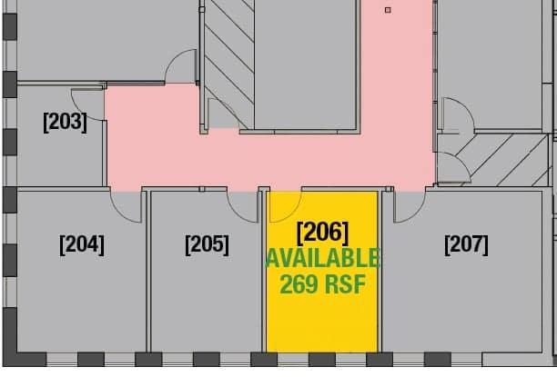 Suite 210 - 2,793 RSF