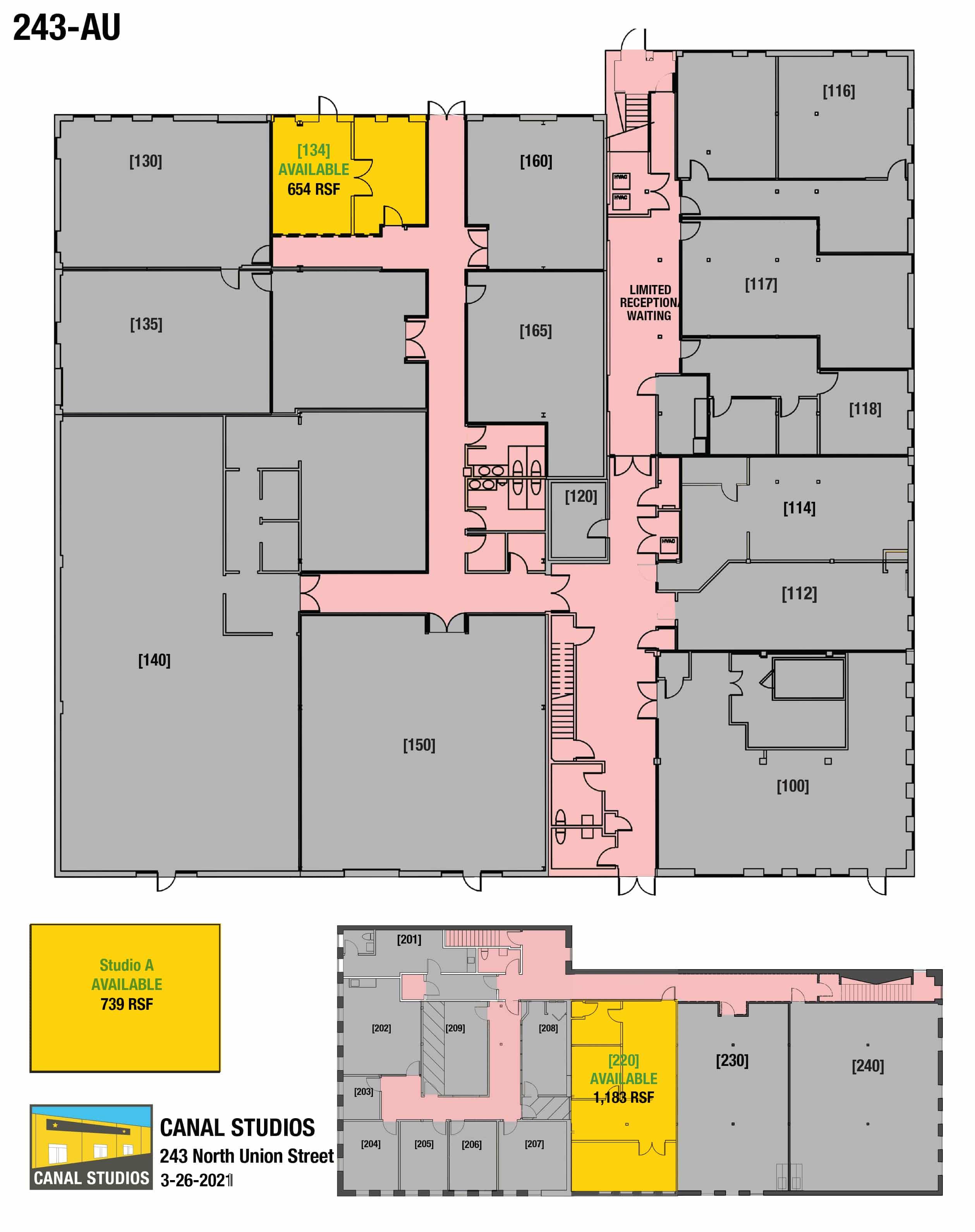 243 N. UNION STREET - Canal Rental Suites